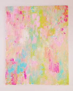 confetti 16x20 abstract painting by ShelbyRevisArt on Etsy