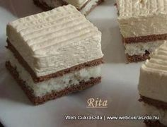 Hungarian Cake, Food And Drink, Cheese, Kitchen, Beauty, Bakken, Cooking, Kitchens, Cuisine