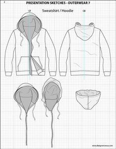 Mens Illustrator Flat Fashion Sketch Templates - Presentation Sketches Outerwear - 1045+ mix & match Menswear design templates only $39.95! #menswear #mensfashion #flatsketches #fashionflats #fashionsketches #fashiontemplates #fashionCADs #fashionpresentation:
