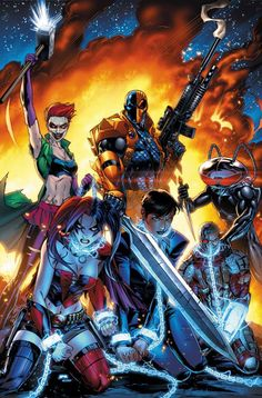 This looks awesome...are they redoing Suicide squad? Because this looks like a crazily amazing team!