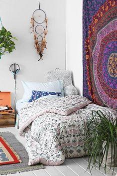 Dormitorios de estilo Boho