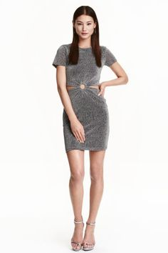 What To Wear When You Start University - H&M Glittery dress £29.99