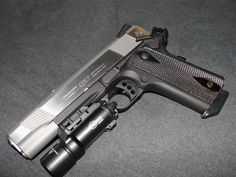 Colt Govt 1911 pistol Loading that magazine is a pain! Get your Magazine speedloader today! http://www.amazon.com/shops/raeind