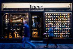 Tincan pop-up restaurant by Amanda Levete, London – UK