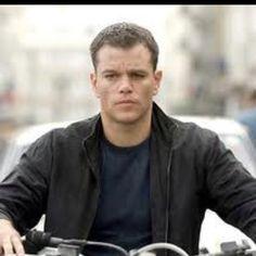 Jason Bourne (The Bourne Identity, Supremacy, Ultimatum) played by Matt Damon. Matt Damon Jason Bourne, The Bourne Ultimatum, Bourne Supremacy, Mark Ruffalo, Martin Scorsese, Tenerife, Bourne Movies, Santa Cruz, Actor