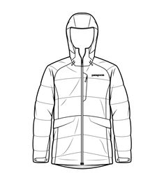 Patagonia Technical Illustrations Product and Instructional illustrations 2013 — 2017 Catalog Illustrations to explain the technical aspects of. Technical Illustration, Medical Illustration, Technical Drawings, Graphic Illustration, Flat Drawings, Flat Sketches, Clothing Sketches, Dress Sketches, Fashion Sketchbook
