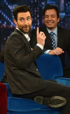 Adam on Jimmy Fallon. Love both of them!