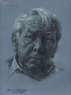 Zelf portret Sierk Schröder 1996