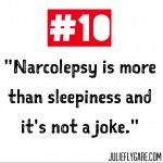 Seriously so glad i found this. Ten things everyone should know about narcolepsy.