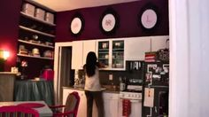 organize an efficiency apartment - YouTube