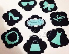Bonequinha de Luxo - Aplique Scrap Adult Birthday Party, Silhouette Projects, Cookie Cutters, Audrey Hepburn, Paper Crafts, Garden Ideas, Chanel, Fashion, Tiffany Theme