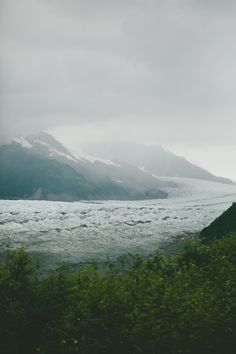 CHILD'S GLACIER - CORDOVA, ALASKA (PHOTOGRAPHS BY BRIAN SAMUELS - A THOUGHT FOR FOOD)