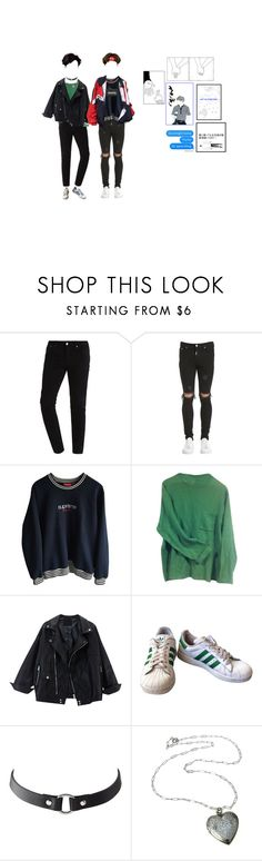"""""""¿?"""" by katjq ❤ liked on Polyvore featuring Represent, Paul Smith, adidas, Charlotte Russe, Mon Cheri, men's fashion and menswear"""