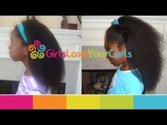 ♥ 37 ♥ Stretching natural hair without heat - The GirlsLoveYourCurls Super Stretch Method - YouTube