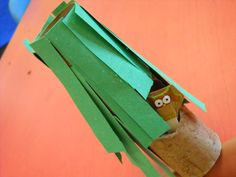 owl in a tree camp theme, camping fun, owl crafts, coffee, owl sticker, popsicl stick, paper towel, indoor camping, tree homes