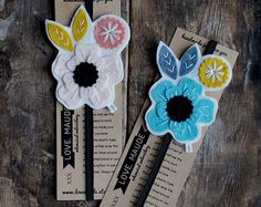 These bookmarks would be the perfect gift for teachers, book lovers, sisters, friends...and on and on. Or maybe you are like me and you have multiple