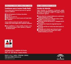 Ciclos formativos de Grado Medio:  - Técnico en Peluquería y Cosmética Capilar - Técnico en Estética Personal Decorativa  www.aliciabravo.es