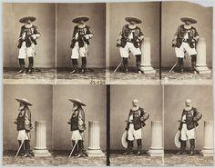 Le colonel d'état-major Dupin, commandant des contre-guérillas au Mexique