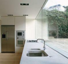 rear facade glass
