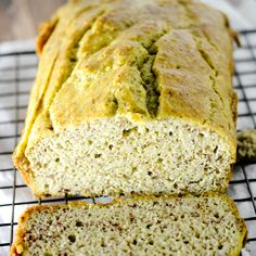 Low Carb Bread Recipe Breads with unsalted butter, large eggs, baking soda, almond flour, heavy cream, salt