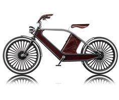 cykno retro style electric bike - designboom | architecture