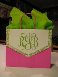 DIY- Decorating and enhancing ordinary Gift Bags | from sweet tea and pearls
