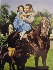 Rhett Butler - Bonnie Blue Butler - Gone with the wind Old Movies, Great Movies, Wind Movie, Rhett Butler, Tomorrow Is Another Day, Old Movie Stars, Great Love Stories, Child Actresses, The Best Films