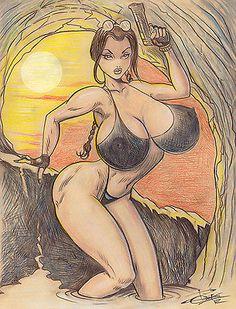 Lee Rumiko 1971 2014 Sketchbook 514A Original Anime Concept Art | eBay