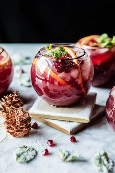 Pomegranate Ginger Paloma | halfbakedharvest #cocktail #recipe