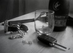 A Glass before I leave by Kelvin Okafor ~ Flickr - Photo Sharing ~ hyper-realistic art