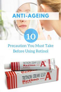 10 precautions you must take before using Retinol for skin treatment.