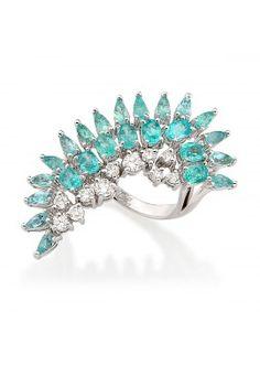 e3f6bf4ba627f 98 melhores imagens de TURMALINA PARAÍBA   Rings, Glow e Jewelry