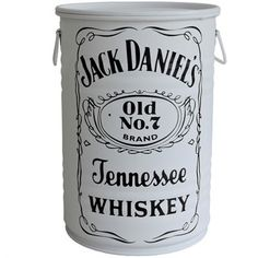 Tambor Jack Daniel´s Branco Com Alças