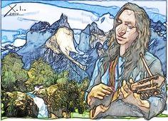 Xulio Formoso: Violeta Parra Folklore, Groomsmen, Color Inspiration, Chile, Princess Zelda, Illustration, Fictional Characters, Image, Beautiful