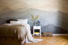 #Фотообои Фотообои в спальне: 115 идей дизайна с невероятными картинами на всю…