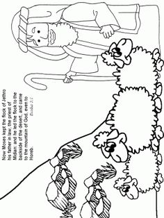 Exodus31 Bible Coloring Pages