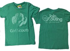 Girls Junk Food Girl Scouts Be a Scout Leader Retro T-Shirt