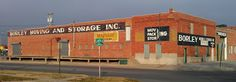 Borley Moving and Storage Inc. ghost sign in Hastings, NE