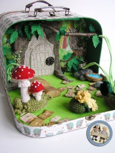 Fairy doll suitcase
