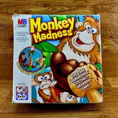 Monkey madness great game for children age 3 the tree hammering coconut grabbing game. Family Games, Games For Kids, Game Sales, Animal Games, Madness, Monkey, Make It Yourself, Toys, Animals