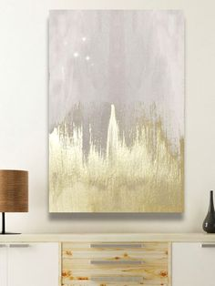 Offwhite Starry Night (Canvas) by Oliver Gal at Gilt