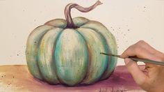 Easy Acrylic Tutorial Pumpkin on Burlap Canvas LIVE Painting Pumpkin Canvas Painting, Autumn Painting, Autumn Art, Love Painting, Painting Tips, Autumn Ideas, Beginner Painting, Painting Videos, Painting Techniques
