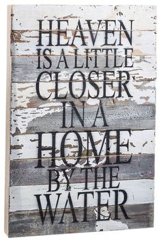 Sweet Bird Wooden Sign - Heaven Bass Pro Shops: The Best Hunting, Fishing, Camping & Outdoor Gear River House Decor, Lake House Signs, Lake Signs, Beach Signs, Beach House Decor, Cottage Signs, Reclaimed Wood Signs, Wooden Signs, Lake Decor