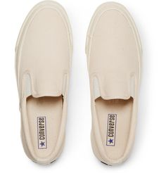 CONVERSE Deck Star Canvas Slip-On Sneakers $65