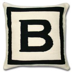 Love monogram pillows