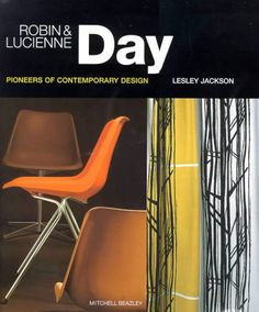 Robin & Lucienne Day - Pioneers of Contemporary Design Mid Century Modern Decor, Mid Century Design, Furniture Ads, Vintage Furniture, Textile Design, Fabric Design, Lucienne Day, Interior Inspiration, Design Inspiration