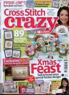 Gallery.ru / Фото #1 - Cross Stitch Crazy 146 январь 2011 + приложение Snow globe c - tymannost