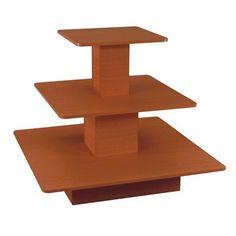 3-Tier Display Table, Cherry