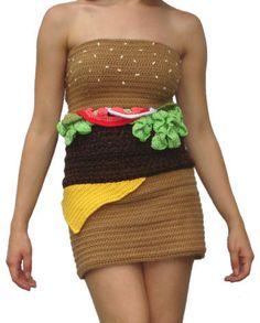 cheeseburger dress by The Sugar Monster, via Flickr