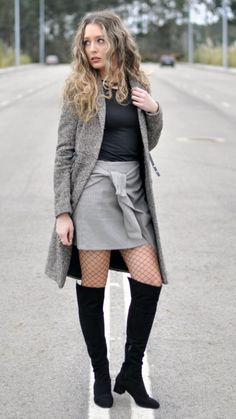 """Fishnet Tights -  As first seen on blog """"Candies Closet"""" here: Fishnet Tights  She is wearing tights similar here: Black Fishnet Tights Classic fishnet tights will give any look a bit of edge.  #tights #pantyhose #hosiery #nylons #tightslover #pantyhoselover #nylonlover #legs"""